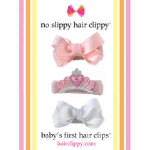 Baby's First Hair Clips Set