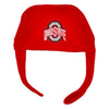 Ohio State University College Football OSU Buckeyes Fleece Hat Baby Tadpoles & Tiddlers Cleveland Bath Akron Ohio
