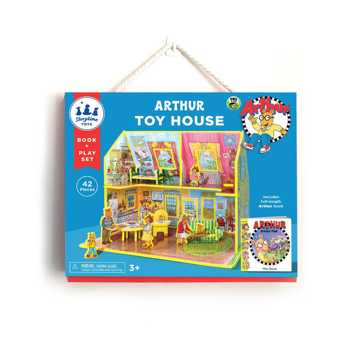 Arthur's House Book and Play Set