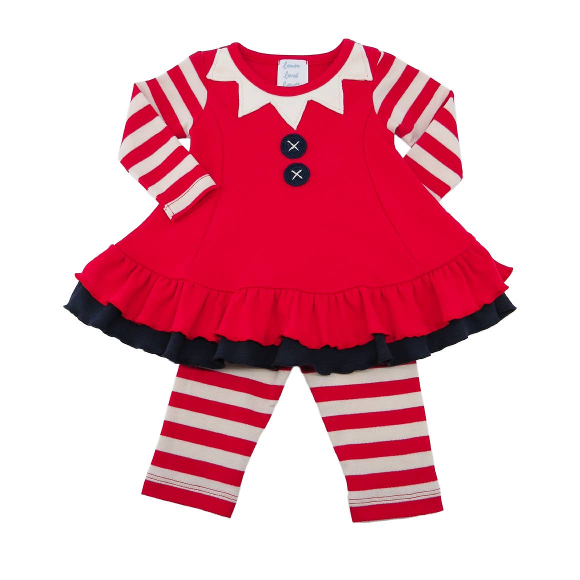Miss Baby Elf Dress Set