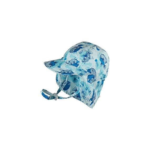 Baby Boy Puffer Fish Legionnaire Swim Hat