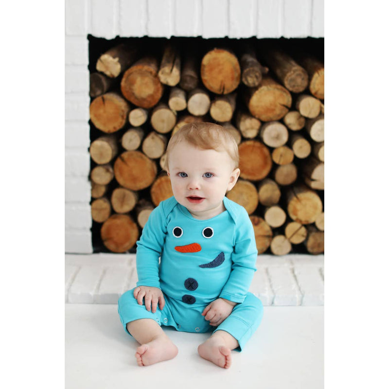 Silly Snowman Romper