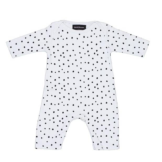 Black & White Dot Coverall
