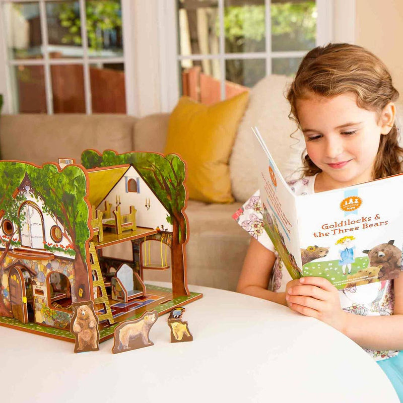 Goldilocks & the Three Bears Book and Play Set