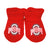 Ohio State University Red Booties
