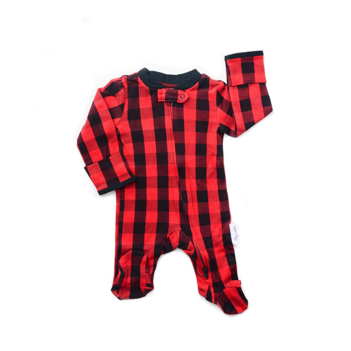 Hudson Buffalo Plaid Footie