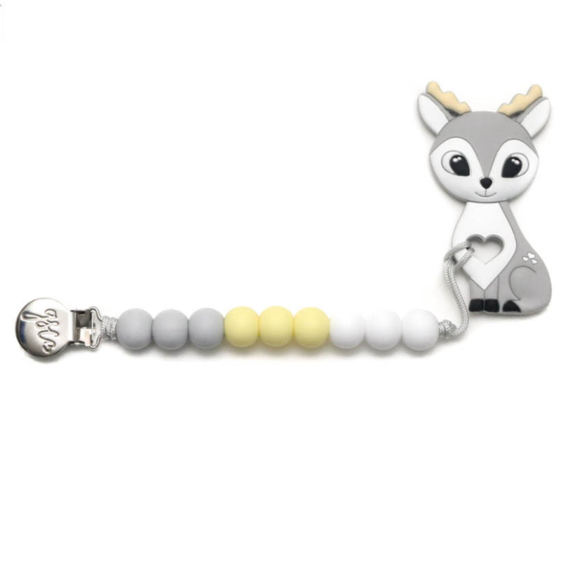Deer Clip On Teether