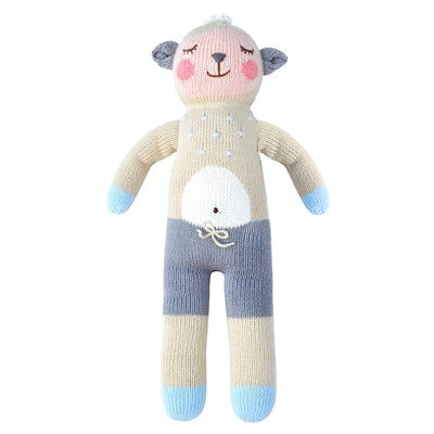 Wooly Sheep Bla Bla Knit Baby Child Doll Plush Toy
