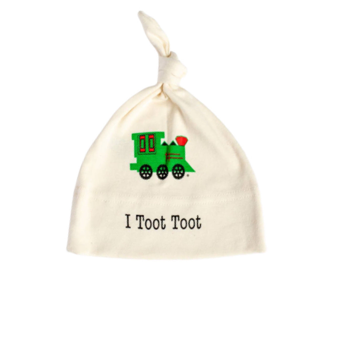 Toot Toot Knotted Hat