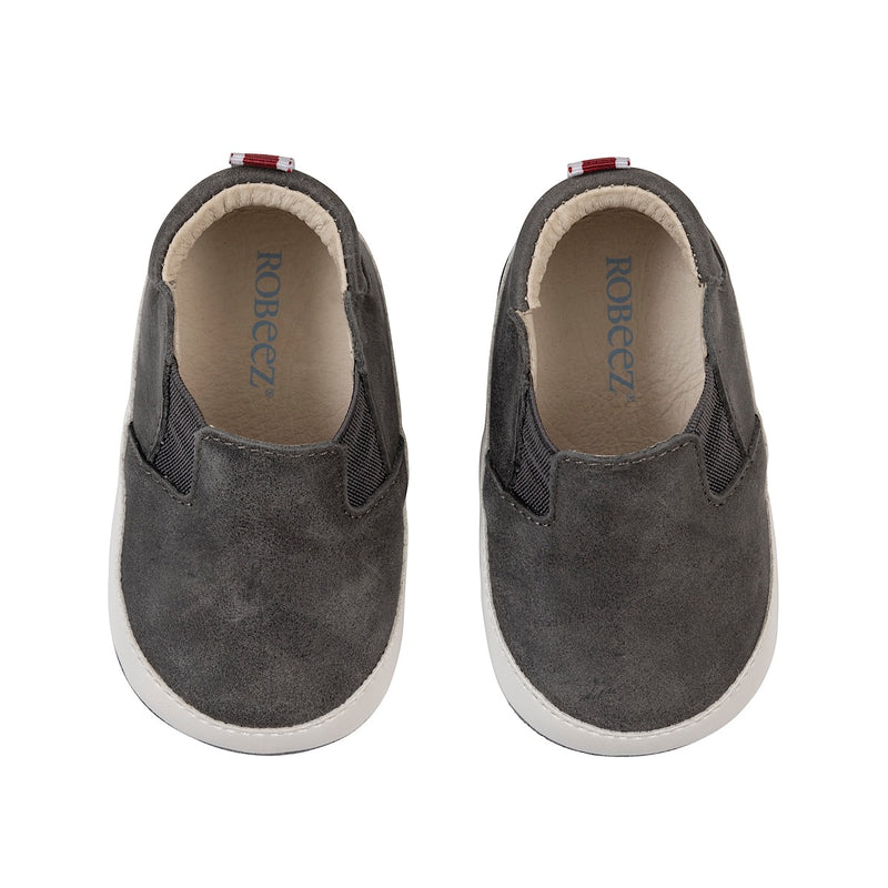 Distressed Charcoal Lenny Loafer