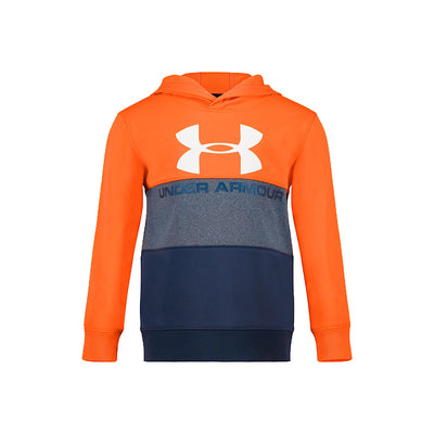 UA Pieced Hoodie-Orange