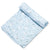 Baby Bunnies Bamboo Swaddle - Blue