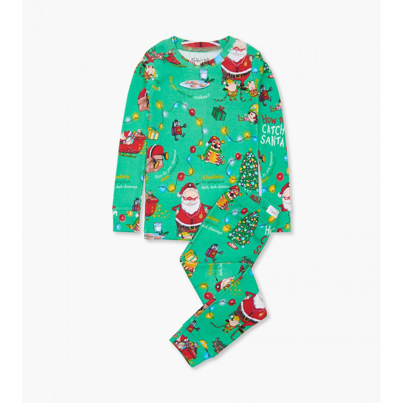 """How to Catch An Elf"" Pajama & Book Set"