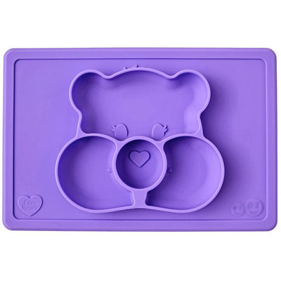 Ezpz Care Bear Mealtime Mat Purple