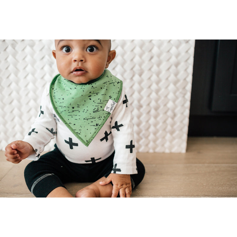Copper Pearl Bandana Bib-Splat