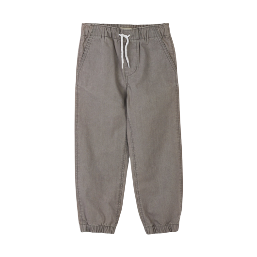 Canvas Jogger-Moon Grey