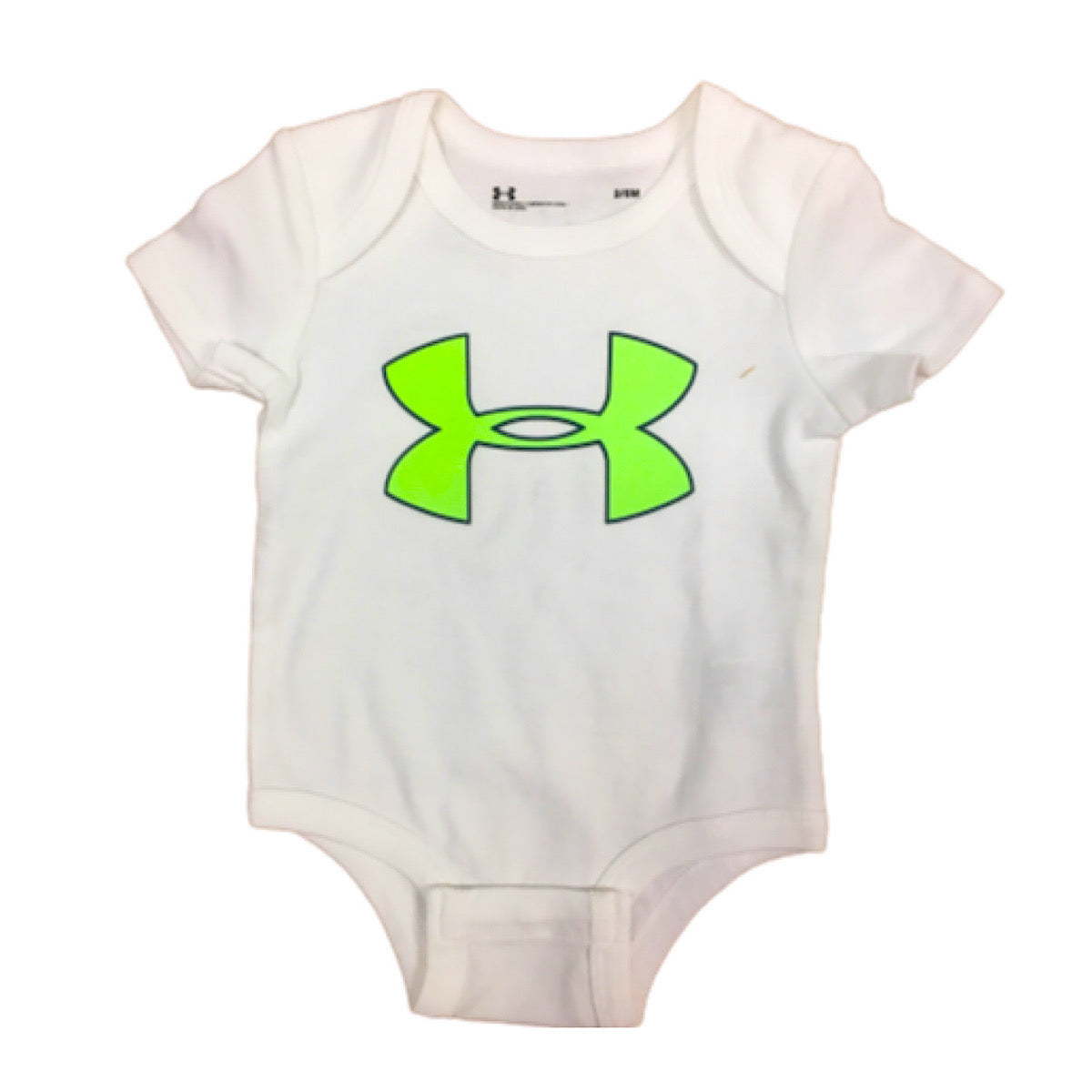 Under Armour Lime Logo Onesie