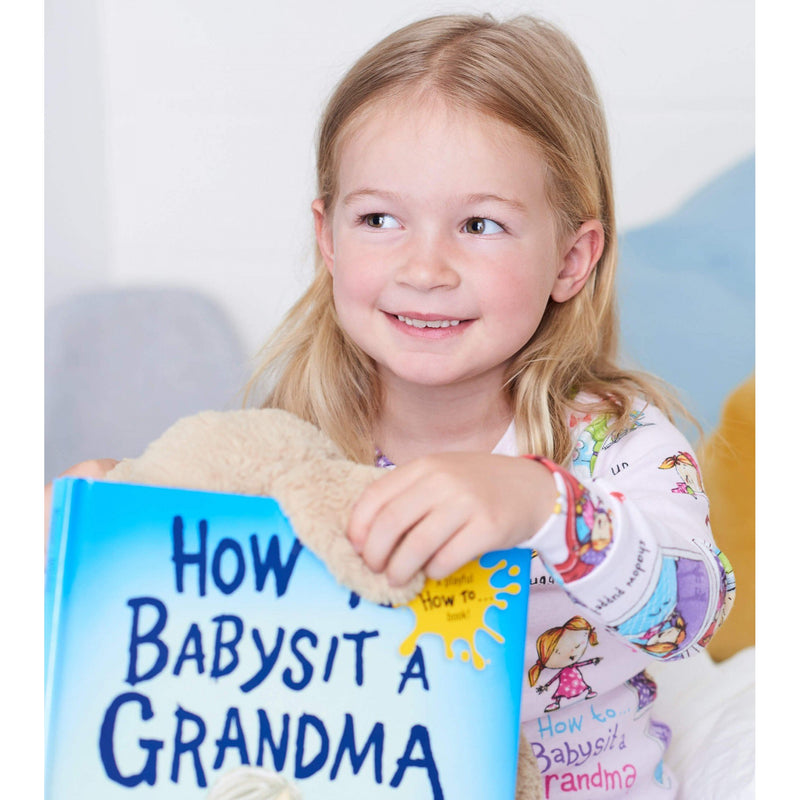 """How to Babysit Grandma"" Pajama & Book Set"