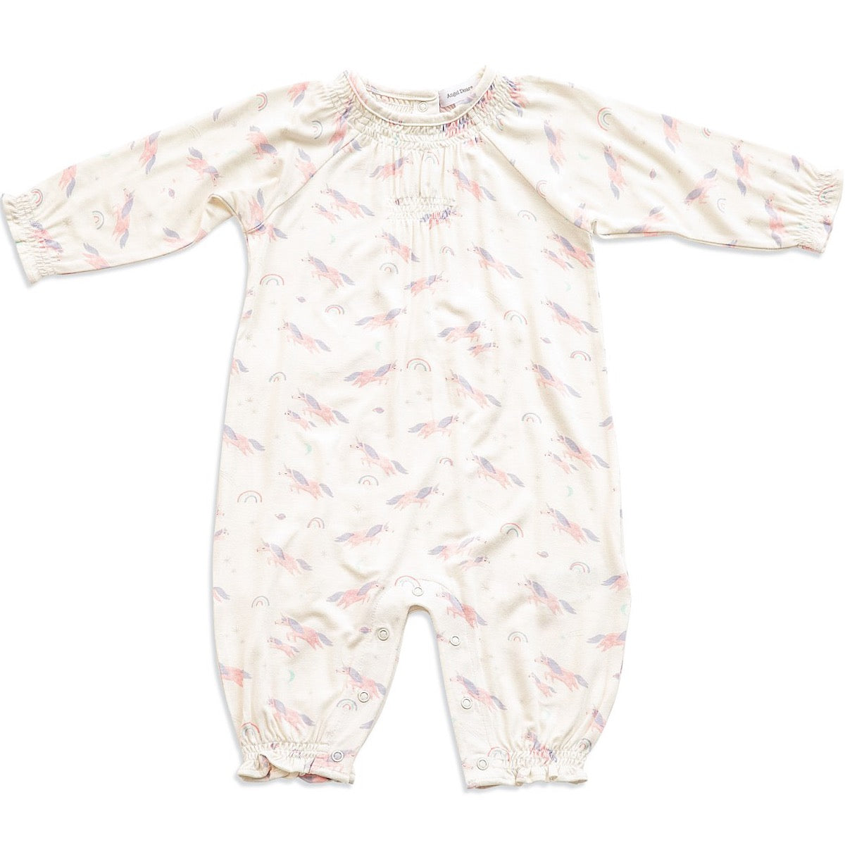 Cosmic Unicorn Smocked Romper