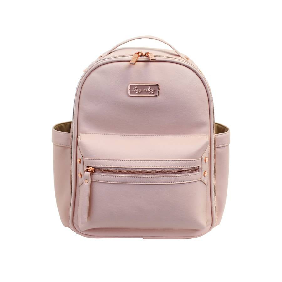 itzy ritzy blush mini backpack diaper bag mom accessories baby shower gift