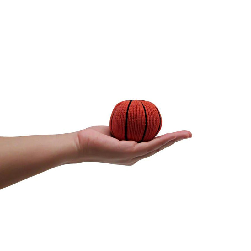 Knit Basketball Rattle