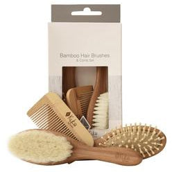 Bamboo Baby Brush Set