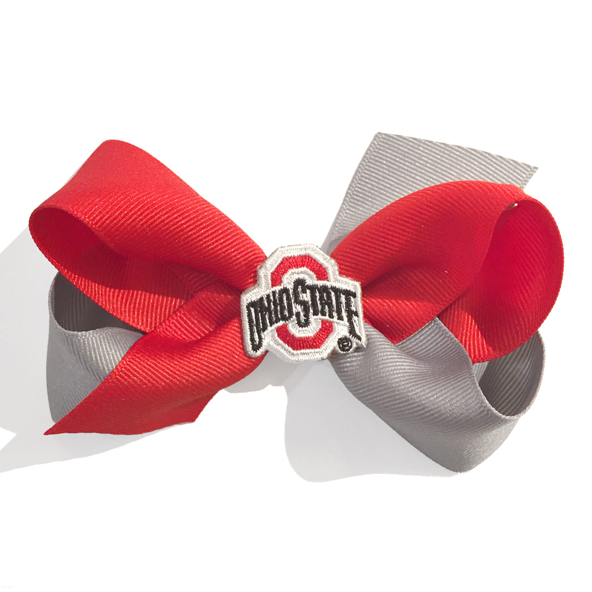Large Ohio State University Hair Bow