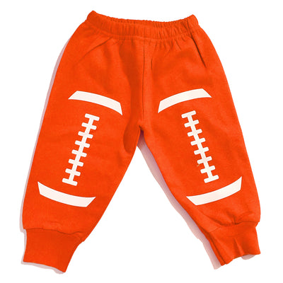 Orange Football Sweatpants Browns Baby Toddler Sport Tadpoles & Tiddlers Akron Bath Cleveland Ohio