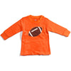 Cleveland Browns Football Orange Brown Long Sleeve Tee Baby Toddler Tadpoles & Tiddlers Cleveland Bath Akron Ohio