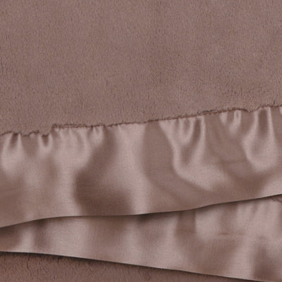 Little Giraffe Luxe Blanket Taupe Fur Satin Baby Boy Tadpoles & Tiddlers Akron Bath Cleveland Ohio