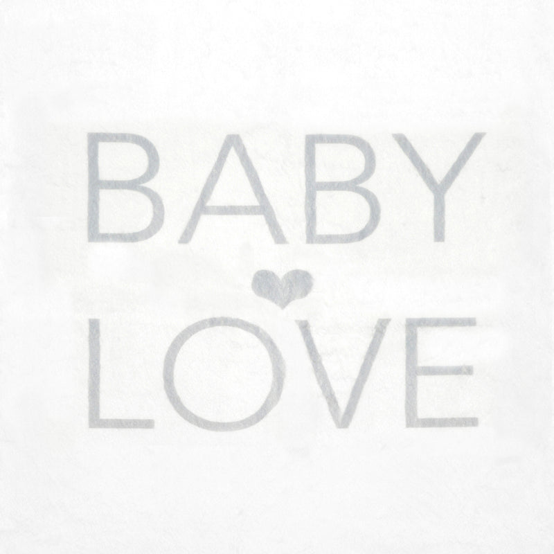 Baby Love Blanket - Silver