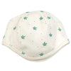 Finn + Emma White Cotton Sloth Print Hat Cap Baby Infant Newborn Tadpoles & Tiddlers Bath Akron Cleveland Ohio