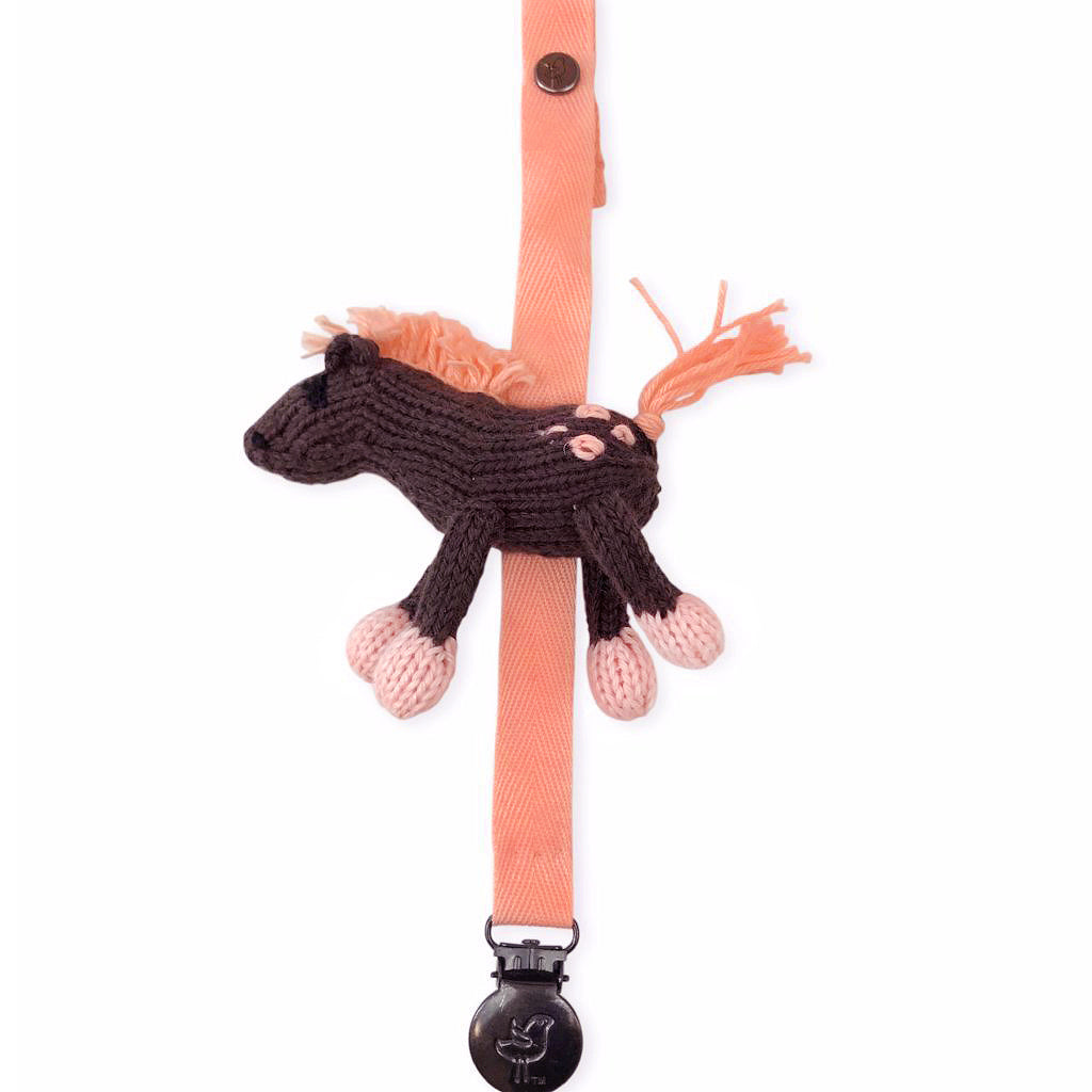 Molly the Horse Pacifier Holder