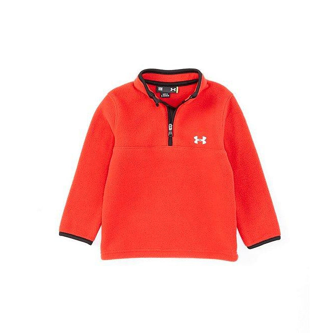 Red Fleece Pullover