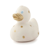 Oli & Carol Elvis the Duck Gold Polka Dot Natural Rubber Bath Toy Teether Baby Tadpoles & Tiddlers Ohio