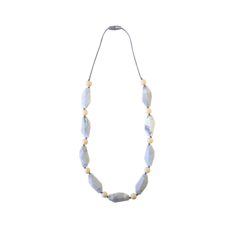 Teething Necklace-Wheat Stone