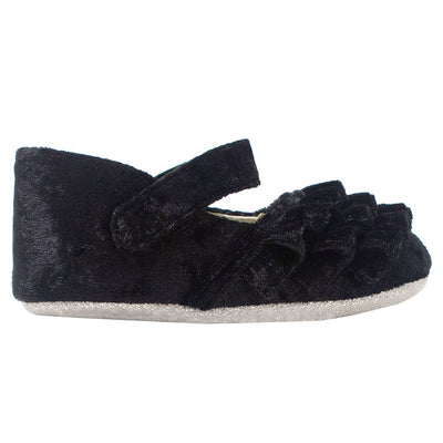 Kate Black Velvet Shoe