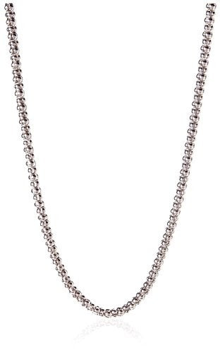 Peermont 925 Sterling Silver Popcorn Chain Necklace