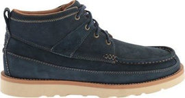 Twisted X Men's MCA0016 Softy Blue Casual Leather Lace-Up Boot Moc Toe Size 8 US