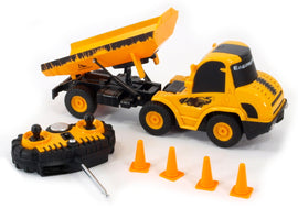 RADIO CONTROLLED MINI ENGINEERING CAR 1:20 SCALE - CONSTRUCTION DUMP TRUCK