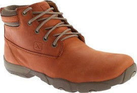 Twisted X Men's MDM0035 Hiking Boot Sunburn Leather Orange Lace Up Size 8.5 US