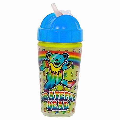 Daphyl's Grateful Dead Dancing Bear Straw Cup