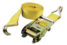 "RATCHET STRAP 2"" x 36' J-Hook HEAVY DUTY 10,000 lbs Truck Tie Down Towing Moving"