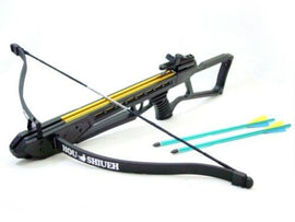 Crossbow 120 LB Draw Weight Hunting Archery Bow w. Arrow Bolts Fiberglass