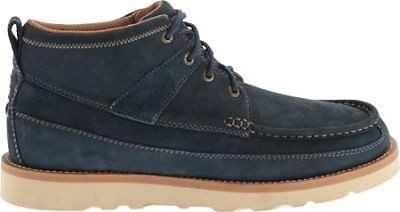 Twisted X Men's MCA0016 Softy Blue Casual Leather Lace-Up Boot Moc Toe Size 9 US