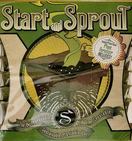 Seedlingers Start & Sprout Pot 6-Cell 6 Pack (36 pots total)