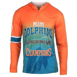 NFL Miami Dolphins Super Bowl VIII Hoody Tee, Small