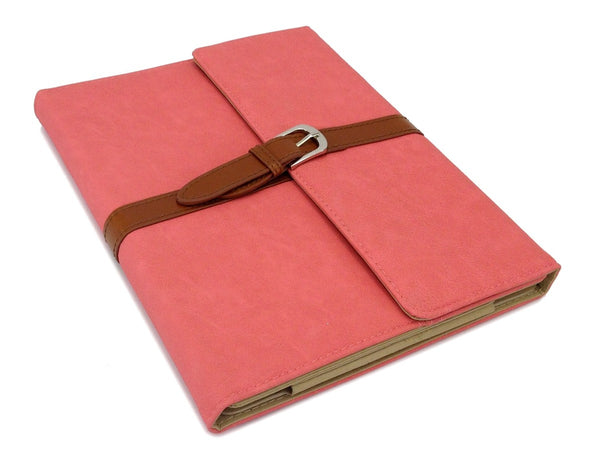 PINK/RED LEATHER PU SMART BAG CASE COVER STAND HOLDER FOR APPLE iPAD 2 3