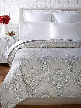 Peacock Alley York Duvet, Linen, Queen
