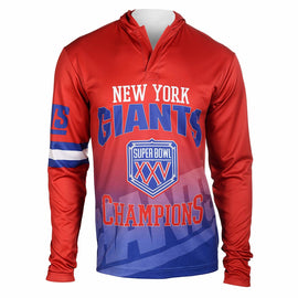 NFL New York Giants Super Bowl XXV Hoody Tee, Small